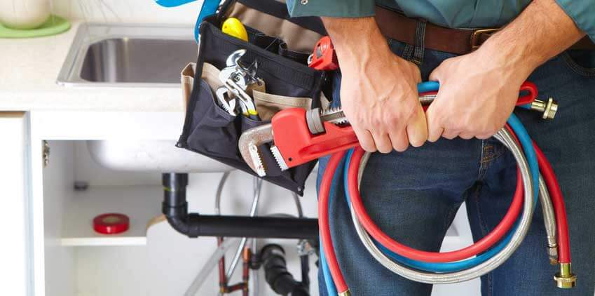 Call a plumber if drain cleaners do not unclog the drain