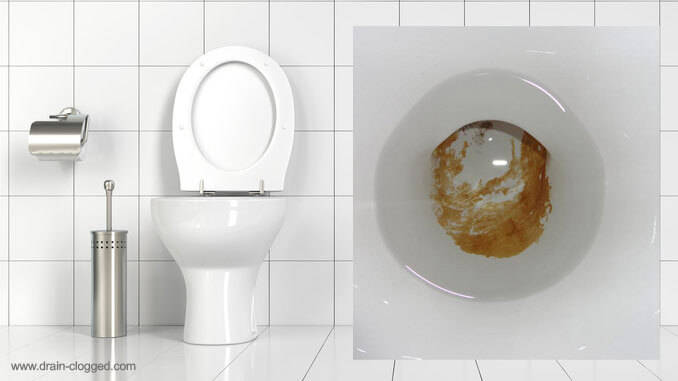 Urine scale in a toilet - how to remove limescale from toilets